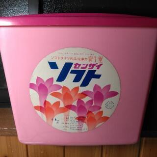 昭和レトロな洗剤容器 アンティーク おもちゃ入れ