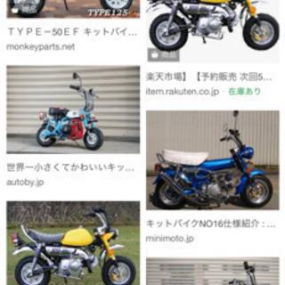 キットバイク探してます