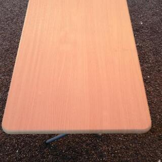 折り畳みテーブル パソコンデスク - 家具