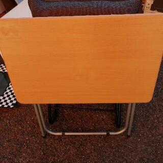 折り畳みテーブル パソコンデスク - 売ります・あげます