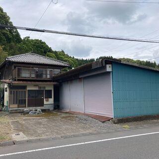 二階建て倉庫付き 2世帯住宅