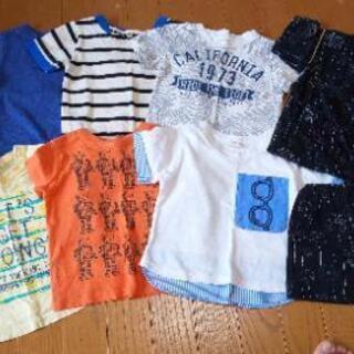 夏物Tシャツ・甚平80センチ