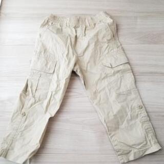 【ネット決済】子供服七分丈ズボン(小学生3年から6年生むけ)