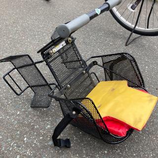 自転車子ども用座席 補助椅子