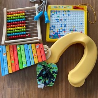 【ネット決済】お譲り価格更新しました!知育玩具と補助便座などまとめて☆
