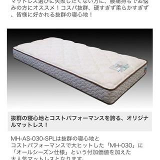 【美品】フランスベッド シングル マットレス フレーム付きの画像