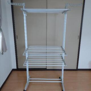 【購入者決定】【美品】早い物勝ち!大容量洗濯物干し 室内干し 物干しの画像