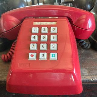 ■赤電話 昭和レトロ 601-P インテリア ジャンク■