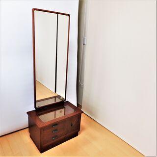 レトロ家具風鏡台