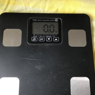 【ネット決済】体重、体脂肪計