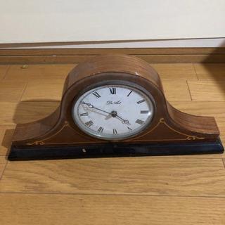 アンティークの置き時計