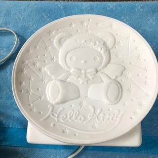 キティちゃん ルームライト陶器