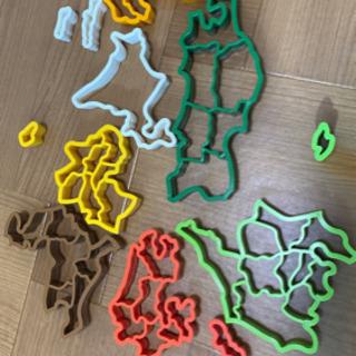 日本地図 クッキーの型