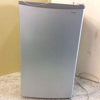 SHARP シャープ 冷蔵庫 1ドア 1人暮らし ノンフロ…
