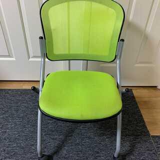 オフィスチェア(折り畳み椅子)3脚セット