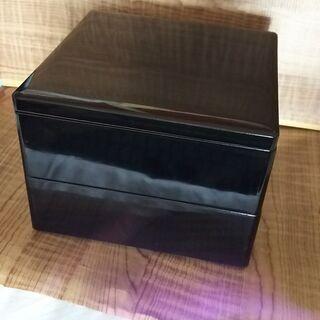 【200円】漆塗り重箱 2段式