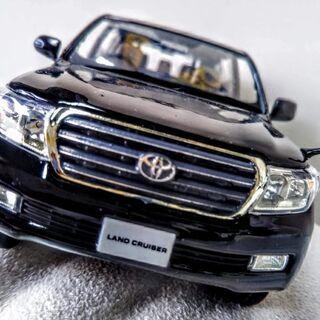 車 精密模型 ランクル 200系 ブラック 黒 200 ランドク...