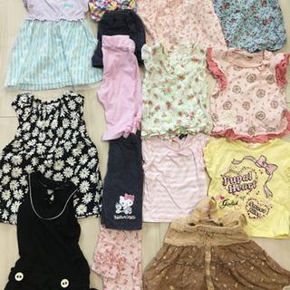 子供服 95 女の子 夏服 半袖 まとめ売り 15点セット
