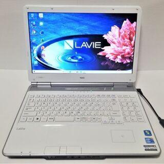 ★超美品☆NEC ノートパソコン PC-LL750CS6W i5...