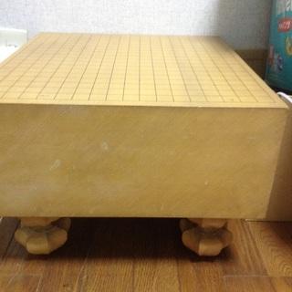 【ネット決済】  脚付き碁盤    碁石付けます  美品