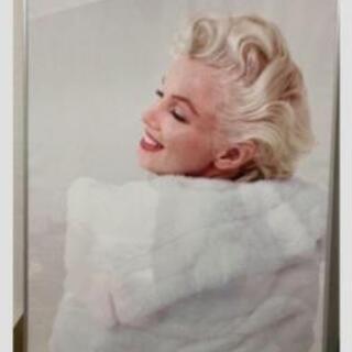 マリリン・モンローフレーム付きポスター