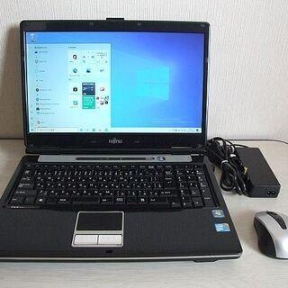 高速SSD120GB搭載 Fujitsu FMV-BIBLO N...