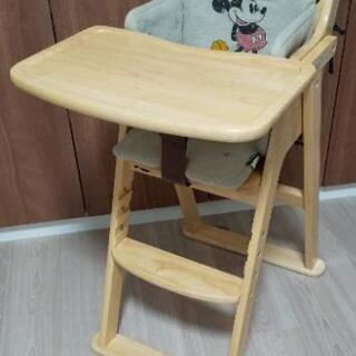 【限定値下げ】ベビーチェア 木製ハイチェア KATOJI …