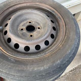 てっちんホイール タイヤ四本セット 14インチ
