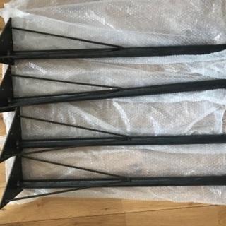 無塗装黒皮アイアン テーブル脚 h700 DIY