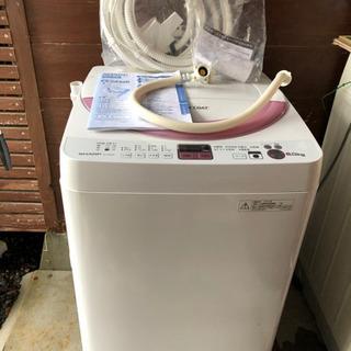 【美品】SHARP 6.0キロ洗濯機