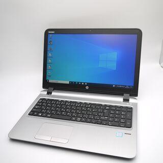 hp 第6世代Corei3 SSD240GB ノートパソコン