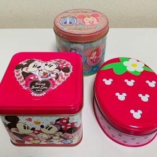 ディズニーランド お菓子缶セット