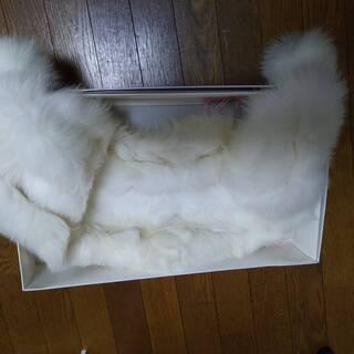 【ネット決済】キツネの毛皮です、成人式用ファー