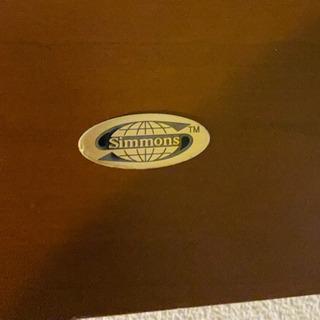 シモンズのシングルベッドフレーム さしあげます