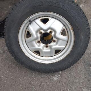 ジムニー❗ 格安スタッドレスタイヤホイールセット