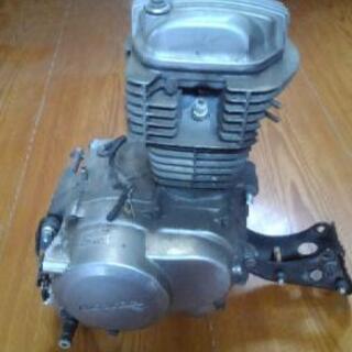 エイプ50 エンジン ジャンク ボアアップベースに