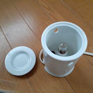陶器製アロマディフューザーとアロマオイルセット - 生活雑貨