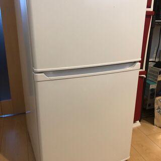【値下げしました!】IRIS OHYAMA 冷蔵庫90L