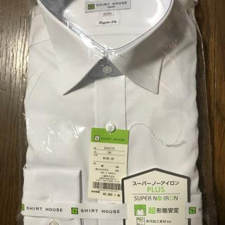 長袖ワイシャツ M スーパーノーアイロン 形状安定
