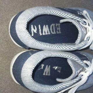 エドウィン スニーカー メンズ - 靴/バッグ