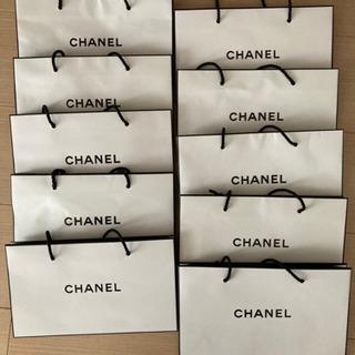 シャネル ショップ袋 10枚