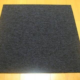 日本製タイルカーペット厚み6.5mm・1枚180円・在庫440枚...