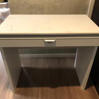 ニトリで買って使い込んだ机