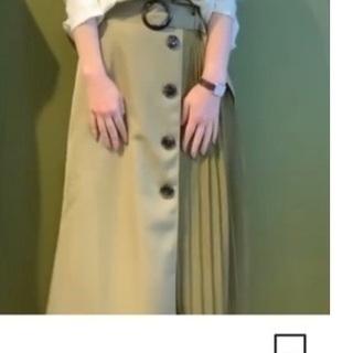 2020 ichika 黄緑スカート