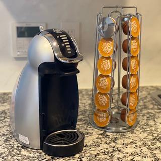 ドルチェグストコーヒーメーカー カプセルタワー付き ¥3,000