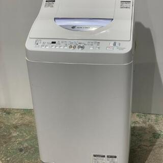 取引中☆シャープ5.5kg全自動洗濯乾燥機2013年製☆
