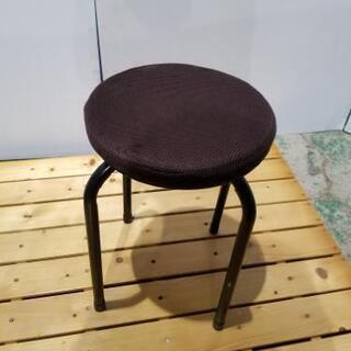 ☆コーナン丸椅子ブラウンスツール☆