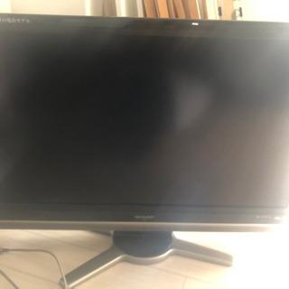 sharp AQUOS 37in TV