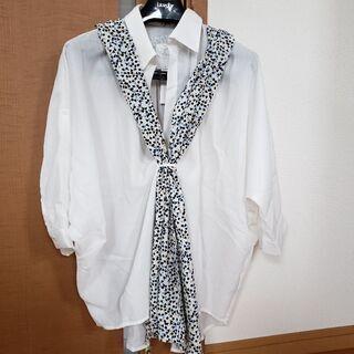 *新品*『S.J.FERRY』スカーフ付きシャツ