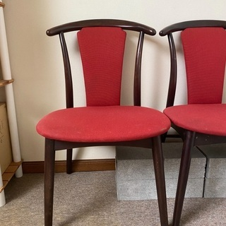 椅子 2個セットの画像